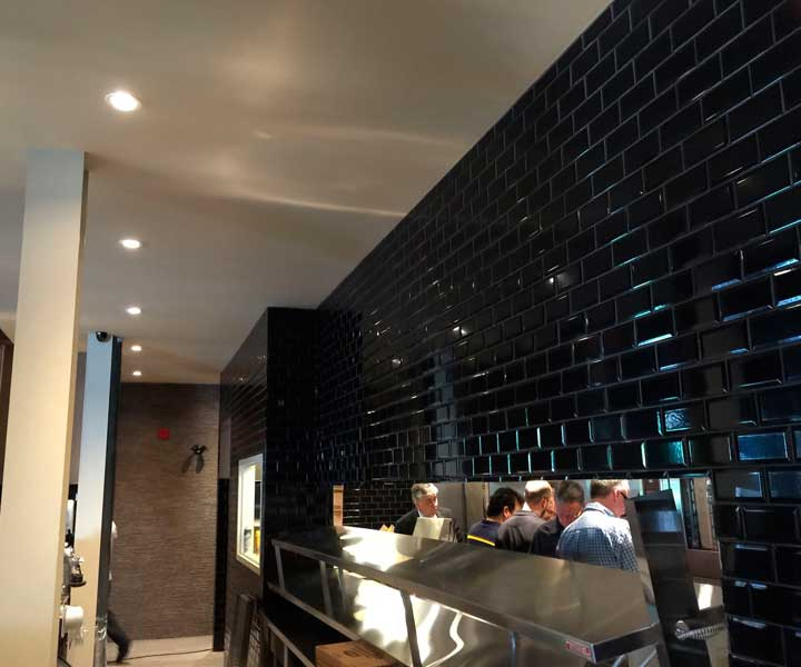Projet de cuisine de restaurant