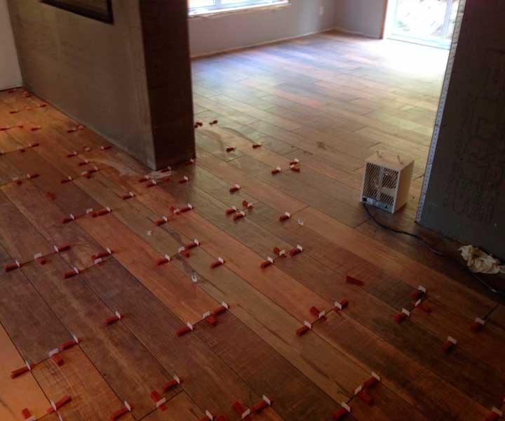 Projet de pose de carrelage de plancher